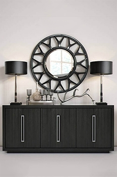 Lexington round mirror
