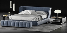 Minotti Creed bed