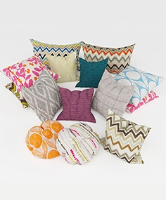 Colorful pillows 063