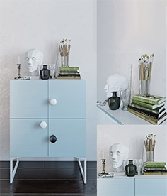 Aredi Scandi chest of drawer 793