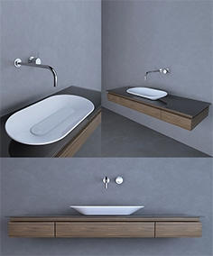 Washbasin Agape 67