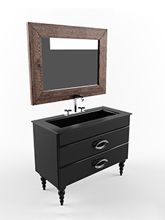 Cezares Orchidea washbasin set