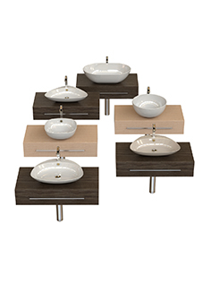 Washbasins collection 45