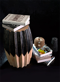 Decorative set with books 04