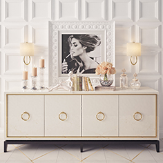 Decorative sideboard 012