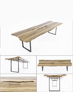 Wooden table 015