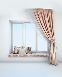 Curtains in the style of Provence 5